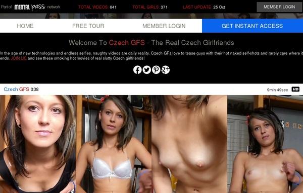Account Czech GFS Gratis