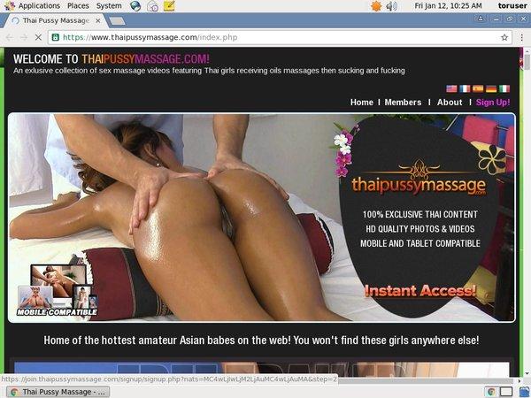 Thaipussymassage Billing Form