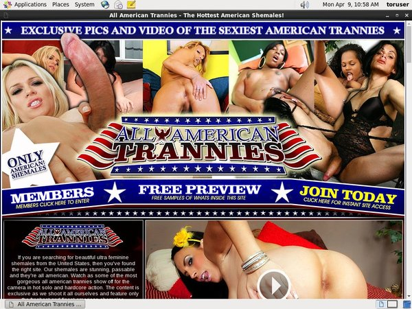 Discount On All American Trannies
