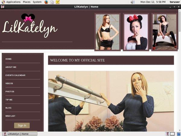 Mobile Lilkatelyn.modelcentro.com Account