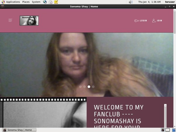 Sonoma Shay New Account