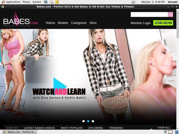 Babes.com Trial Videos